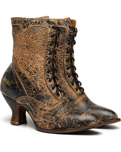 Oak Tree Farms Elizabeth II Lux Boots $170.00 AT vintagedancer.com