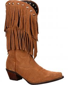 Durango Women's Crush Fringe Western Boots