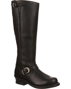 Durango Womens City Soho Engineer Riding Boots