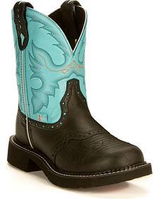Justin Aqua Gypsy Boots
