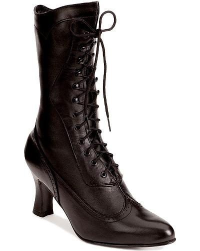 Oak Tree Farms 9 Victorian Dress Boots $109.99 AT vintagedancer.com