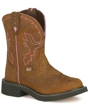 Justin Aged Bark Gypsy Cowgirl Boots