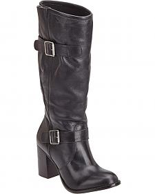 Matisse Rounder Stacked Heel Riding Boots