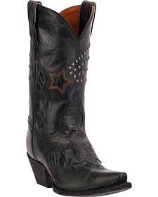 Dan Post Women's Dallas Star Cowgirl Boots - Snip Toe