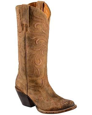 Lucchese Handmade 1883 Womens Laurelie Cowgirl Boots - Medium Toe
