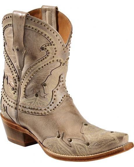 Amazing For A Tough Look On The Job Or On Your Harley, The FRYE Womens Veronica Belted Short Engineer Boot Sports Four Separate Buck