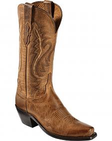 Lucchese Handmade 1883 Women's Cassidy Cowgirl Boots - Snip Toe