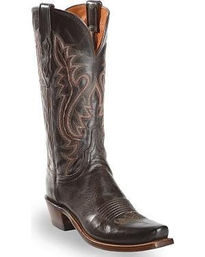 Lucchese Handmade 1883 Womens Cassidy Cowgirl Boots - Narrow Square Toe
