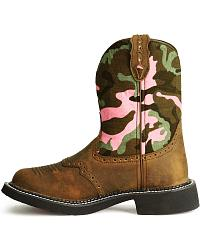 Justin Camo Gypsy Boots at Sheplers