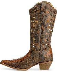 Corral Python Cross Cowgirl Boots at Sheplers