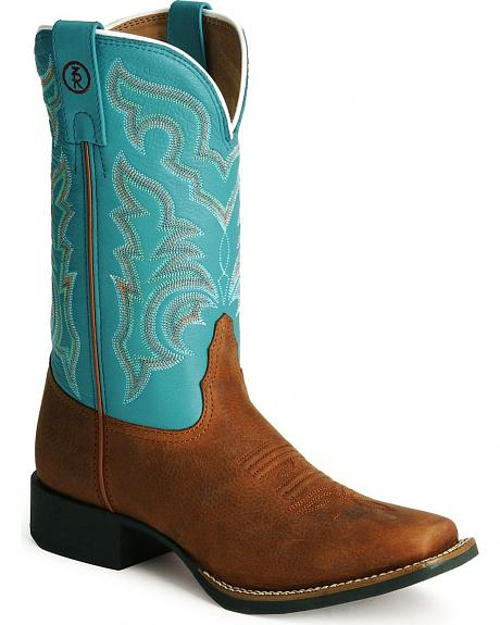 Tony Lama 3R Stockman Boots - Square Toe