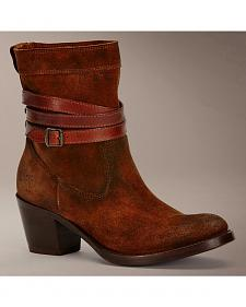 Frye Jane Strappy Short Boots