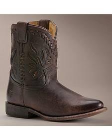 Frye Wyatt Overlay Short Boots