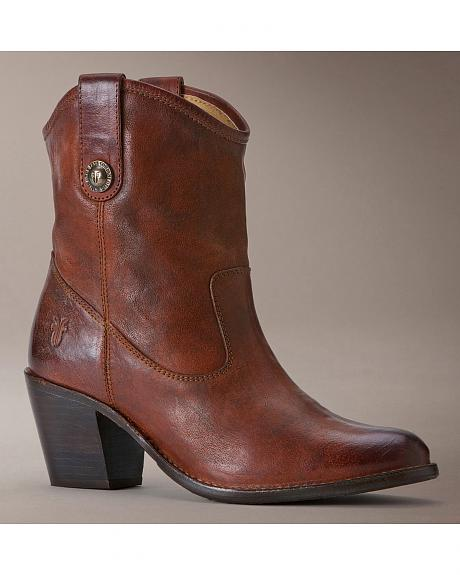 Frye Jackie Button Short Boots
