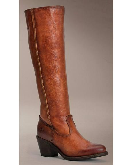 Frye Women's Leslie Artisan Tall Boots - Round Toe