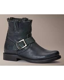 Frye Vicky Artisan Back Zip Boots