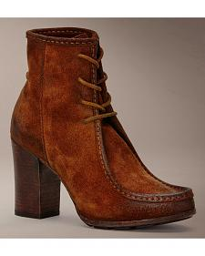 Frye Parker Moc Short Lace-Up Boots