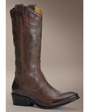 Frye Carson Pull On Western Boots