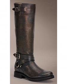 Frye Veronica Criss Cross Tall Riding Boots