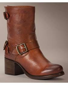 Frye Vera Back Zip Short Boots