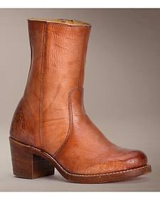 Frye Women's Sabrina Mid Inside Zip Short Boots