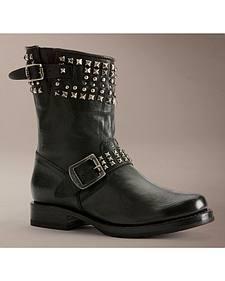 Frye Women's Veronica Biker Zip Short Boots