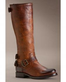 Frye Women's Veronica Back Zip Riding Boots