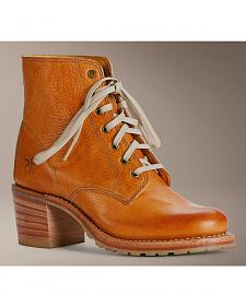 Frye Sabrina 6G Lace Up Boots