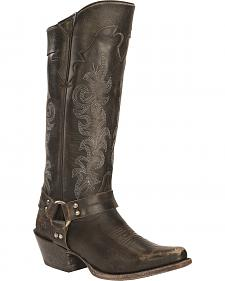 Frye Lily Harness Tall Boots - Square Toe
