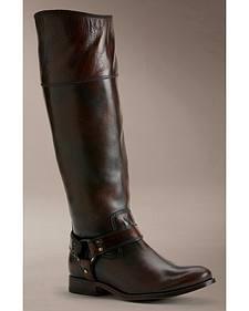 Melissa Harness Inside Zip  Extended Calf Boots