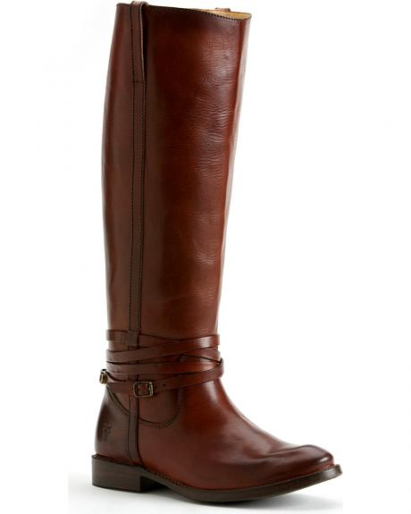 Frye Shirley Riding Plate Boots