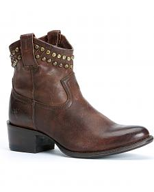 Frye Diana Cut Stud Short Boots