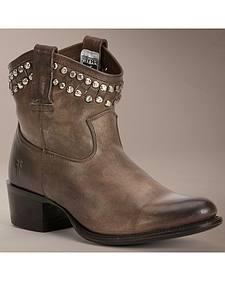 Frye Diana Cut Stud Short Boots