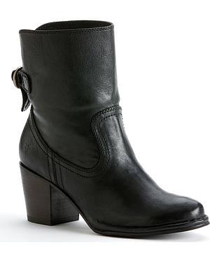 Frye Womens Lucinda Short Boots