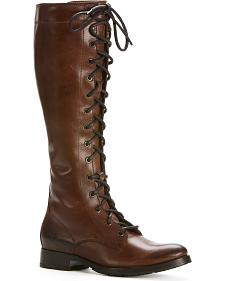 Frye Melissa Tall Lace Up Boots