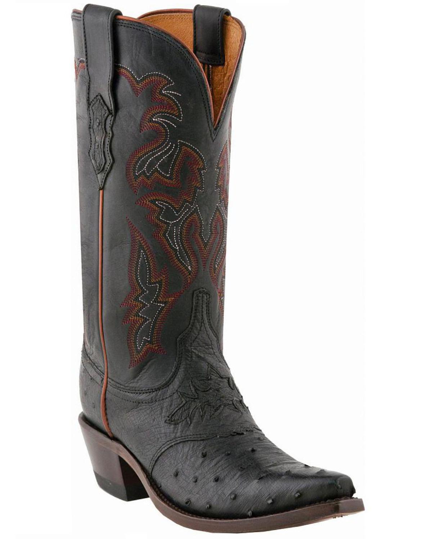 Model Black Cowboy Boots Womens | Coltford Boots