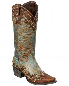 Lane Stephanie Cowgirl Boots - Snip Toe