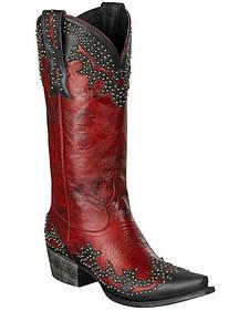 Lane Stephanie Cowgirl Boots - Snip Toe