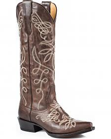 "Stetson Adeline 15"" Cowgirl Boots - Snip Toe"
