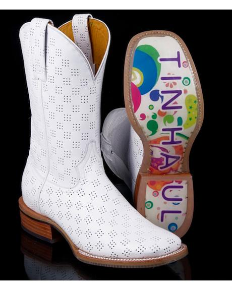 Tin Haul Women's Psychedelic A-Go-Go Cowgirl Boots - Square Toe