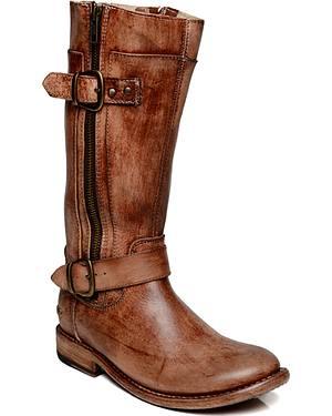 Bed Stu Womens GoGo Zippered Boots