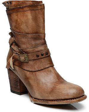 Bed Stu Womens Rowdy Short Boots