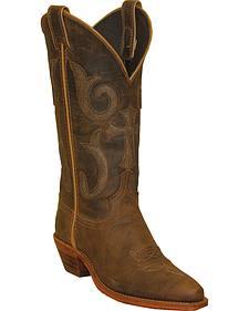 Abilene Boots Women's Western Cross Cowgirl Boots - Snip Toe