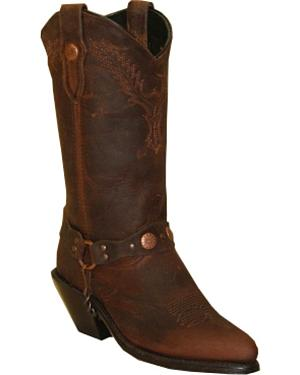 Sage by Abilene Boots Womens Distressed Harness Boots