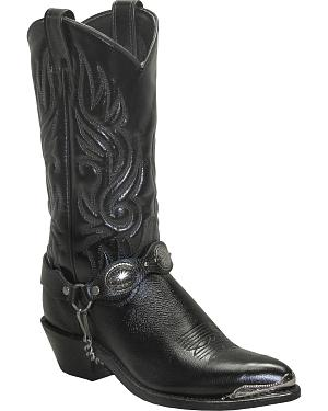 Sage by Abilene Boots Womens Concho Harness Boots