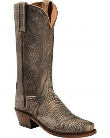 Lucchese Handcrafted Women's Dawn Lizard Cowgirl Boots - Sheplers Exclusive