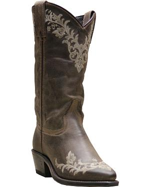 Abilene Boots Womens Embroidered Western Boots - Pointed Toe