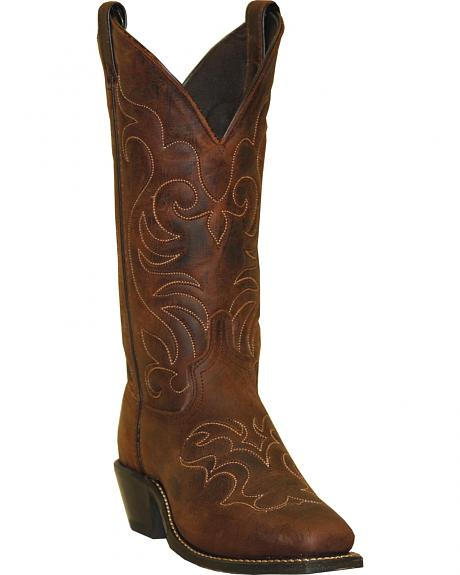 Abilene Boots Women's Embroidered Western Boots - Square Toe