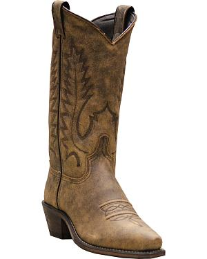 Abilene Boots Womens Covered Wagon Western Boots - Snip Toe