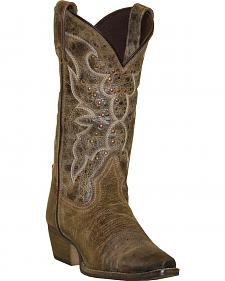 Rawhide by Abilene Boots Women's Nailhead Cowgirl Boots - Snip Toe